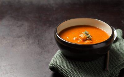 Tomatensoep met balletjes (low FODMAP, zonder ui, zonder knoflook)